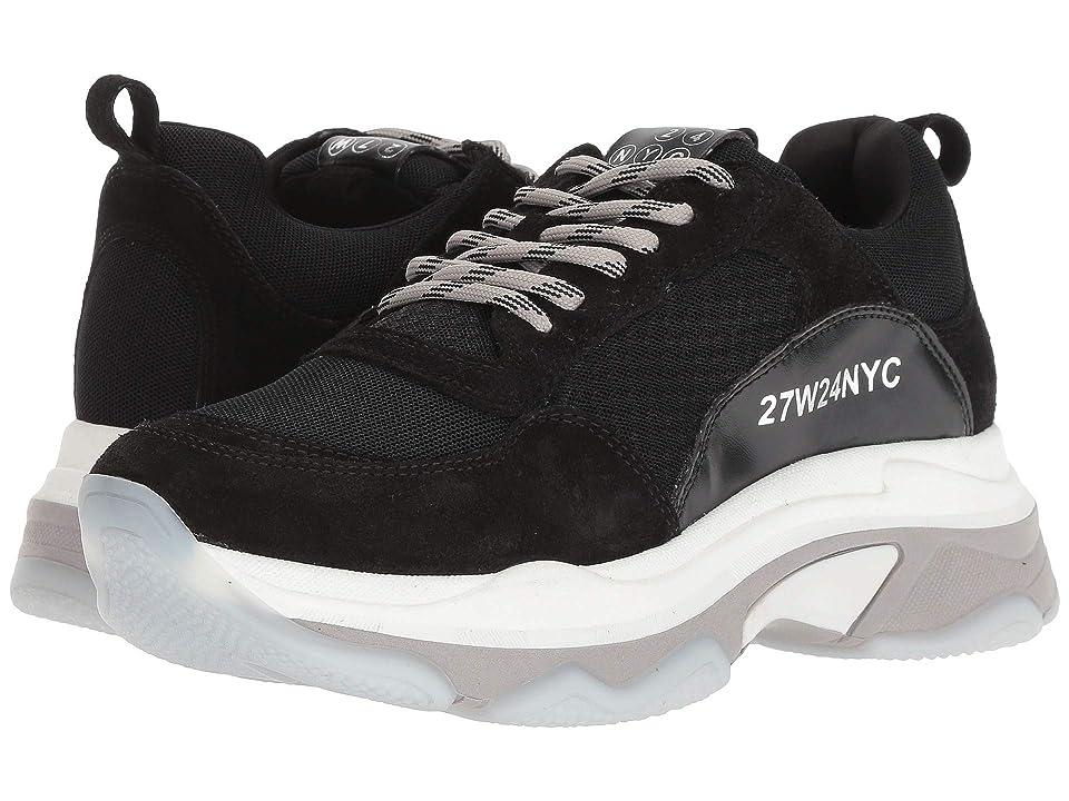 J/Slides Ayla (Black Leather) Women