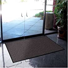 product image for Prestige Entryway Mat Color: Granite, Size: 4' x 6'