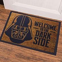 Welcome To The Dark Side Baskı Kauçuk Kapı Önü Paspası