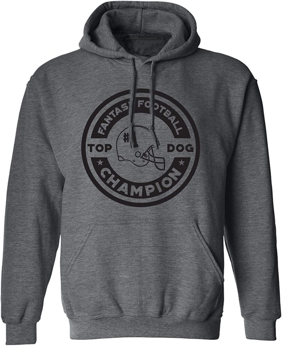FANTASY FOOTBALL CHAMPION Adult Hooded Sweatshirt