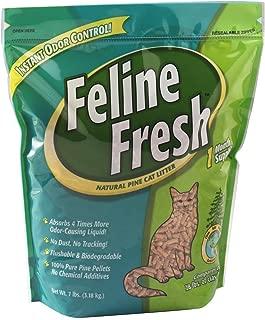 Feline Fresh Natural Pine Cat Litter 7 lbs. (2 Packs)