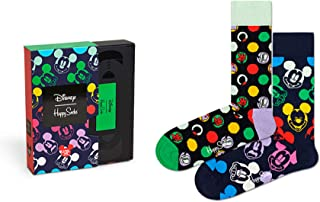 Happy Socks, Calcetines Disney x Pack-2 Caja Regalo