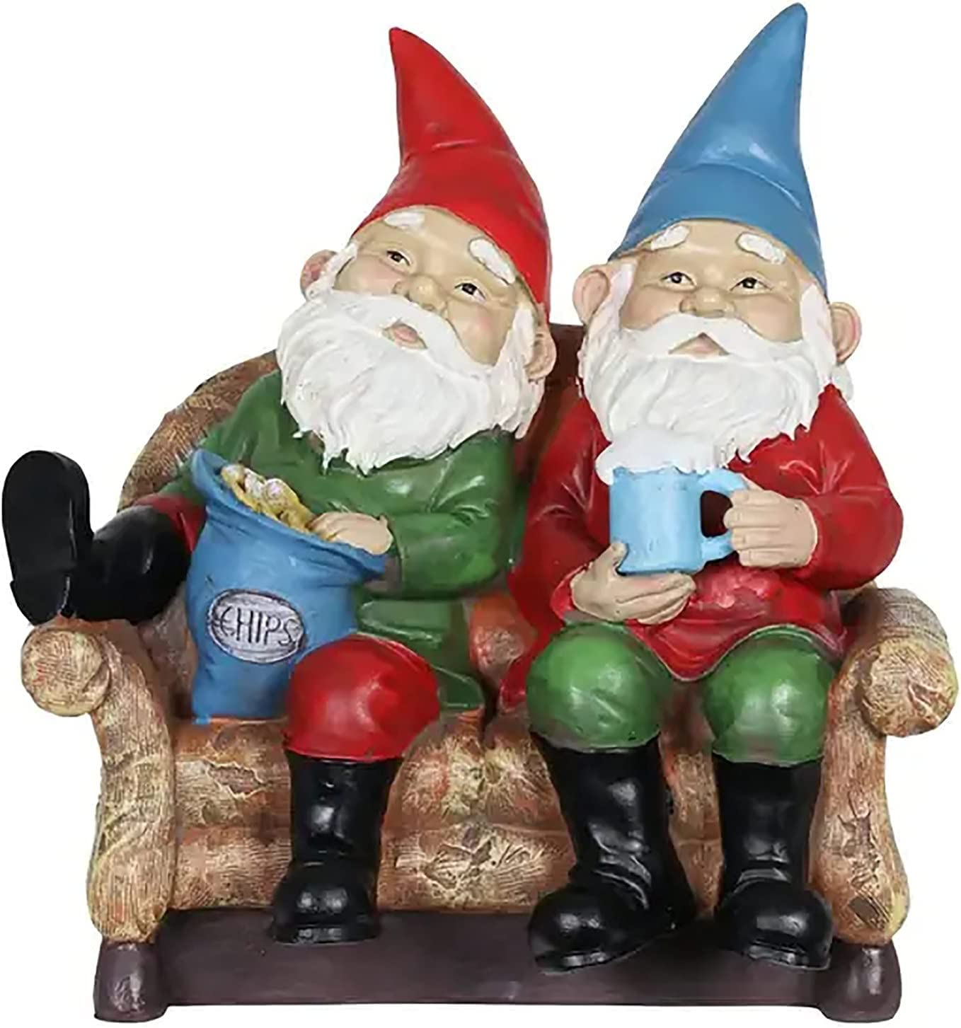 BITM Drunk Max 83% OFF Fashionable Beer Garden Gnome Good Time Gnomes Couch Potato Lazy