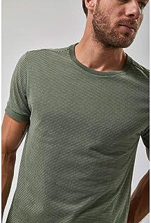 Camiseta Manga Curta Listrada - Verde