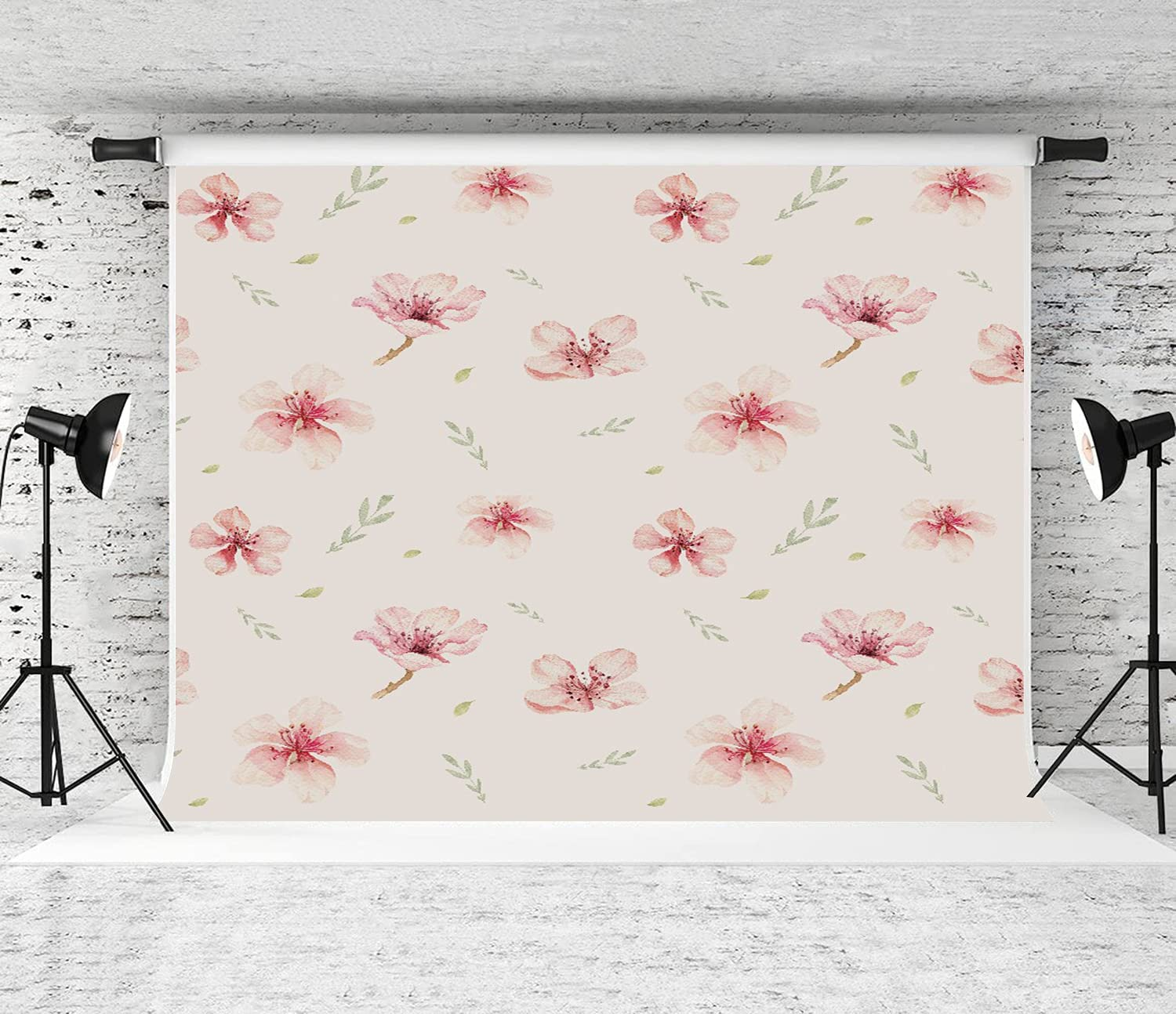 SUDISSKM 10x8FT Photography Background Cherry Genuine Free Shipping B Flowers Blossom New sales