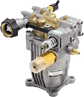 """New - Premium - Cold Water - Gasoline - Pressure Washer - Power Washer - Replacement - Axial Horizontal Pump 3/4"""" Shaft 2600-3200 PSI- 2.3-2.5 GPM Aluminum Head (3000-3200 PSI 2.5 GM)"""