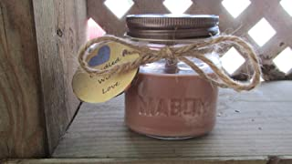 Gingerbread - Soy Wax Candle - 8oz Mason Jar by Candled With Love