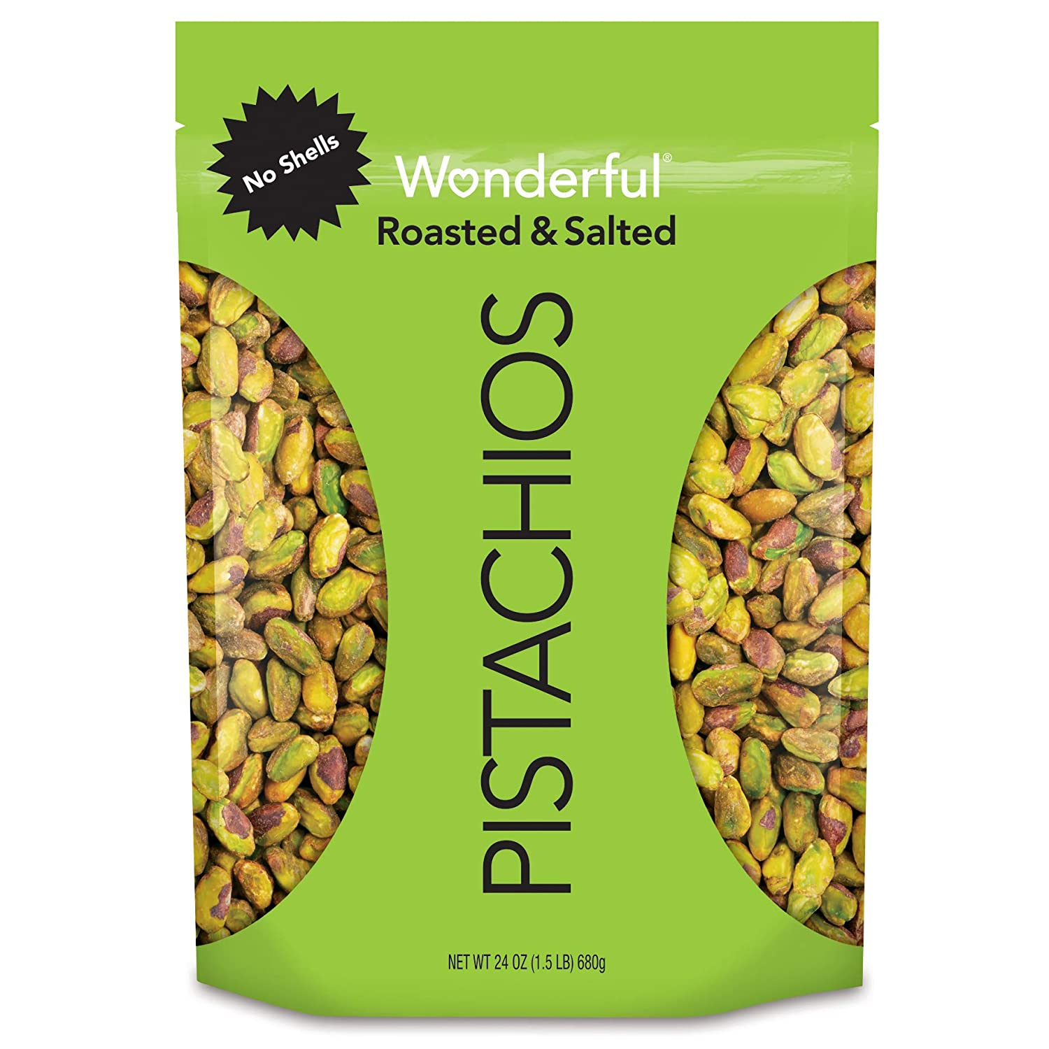 Ultra-Cheap specialty shop Deals Wonderful Pistachios No Shells Roasted Rese 24 Salted Ounce