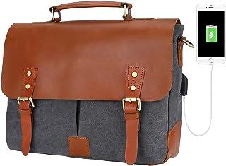 2f241e8cd52e Amazon.com: canvas satchel small - $50 to $100 / Briefcases / Bags ...