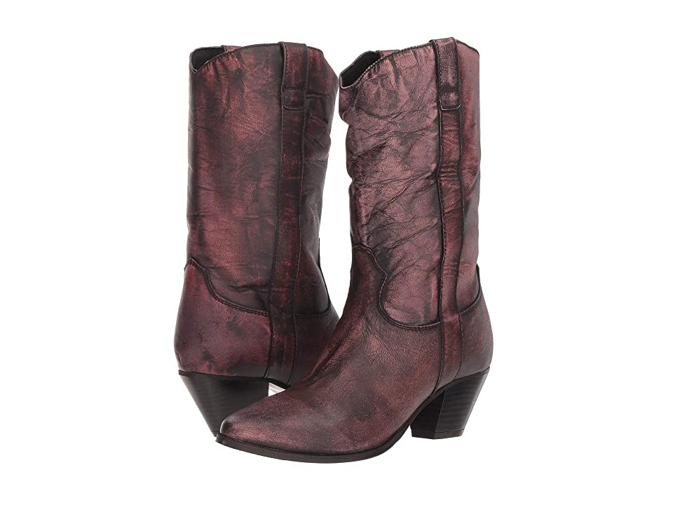 Dingo Tina (Pink Distressed) Cowboy Boots