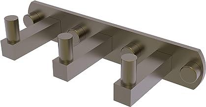 Allied Brass MT-20-3-ABR Montero Collection 3 Position Multi Hook Antique Brass