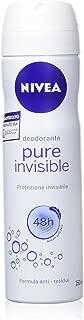 Nivea PURE INVISIBLE Anti-Perspirant Deodorant Spray for Women, 150 ML