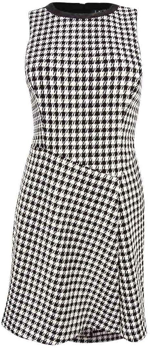 Lauren Ralph Lauren Women's Houndstooth Print Dress