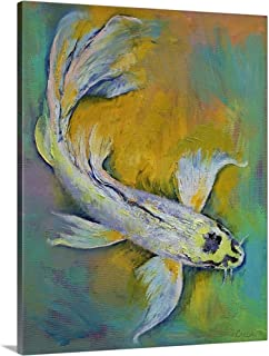 GREATBIGCANVAS Gallery-Wrapped Canvas Kujaku Butterfly Koi by Michael Creese 38