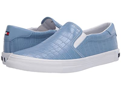Tommy Hilfiger T-Hanks3 (Blue Croc) Women
