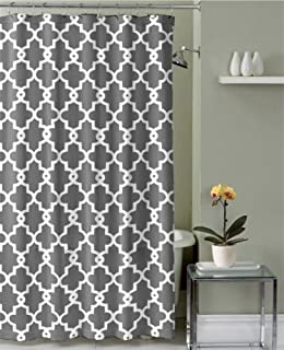 Ruthys Textile Geometric Patterned Shower Curtain