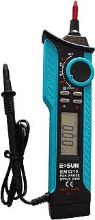 ALLOSUN Portable Pen Type Digital Multimeter Logic Probe AC DC Volt Amp Tester DMM