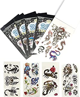 Birthday Popper Temporary Tattoos (Set of 20 Booklets) for All Age Group  Cute Style   200+ Tattoo Designs  Body Art Stick...