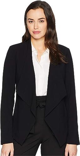 Drape Front Jacket
