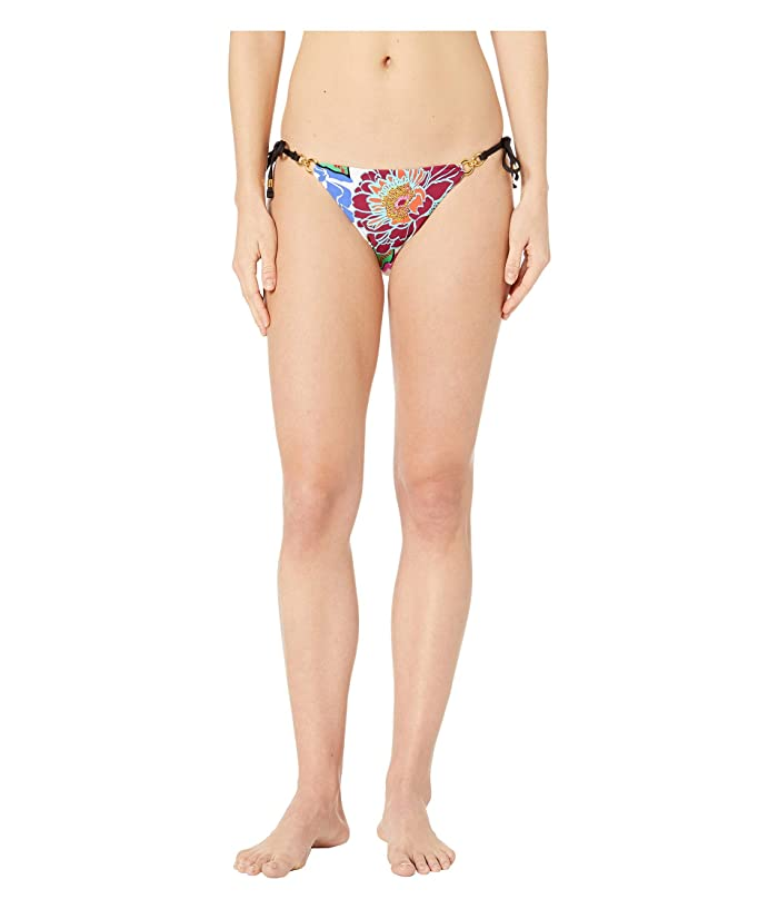 Trina Turk Radiant Blooms Tie Side Hipster Bottoms (Multicolored) Women