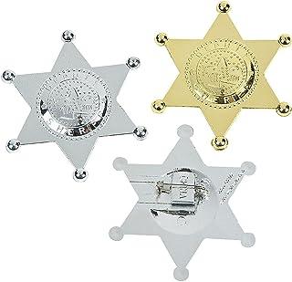 PAQUETE DE 12 PLACAS ayudante del sheriff