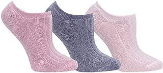 Women's Reversible Comfort Socks 3 Pair Pack