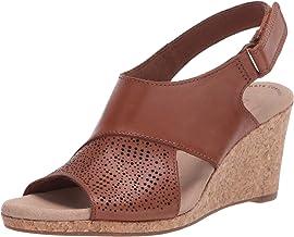 Clarks Women's Lafley Joy Wedge Sandal