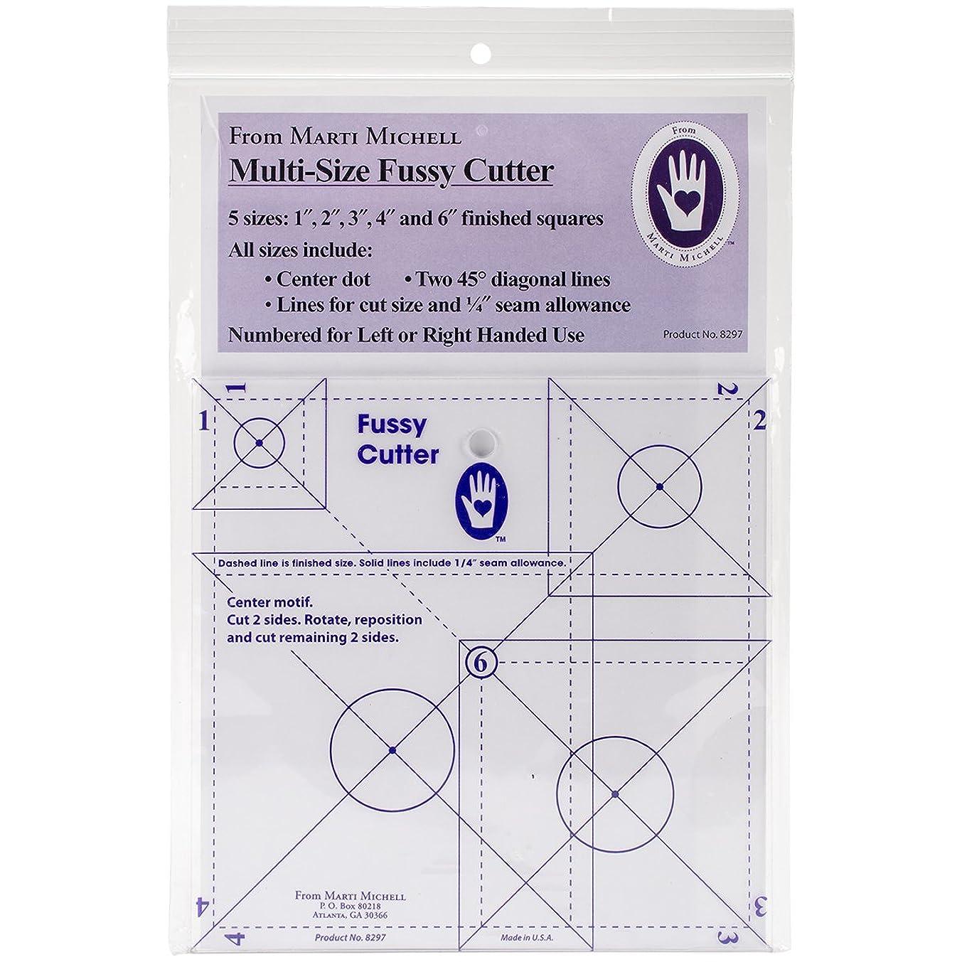 Marti Michell 8297 Multisize Fussy Cutter Ruler