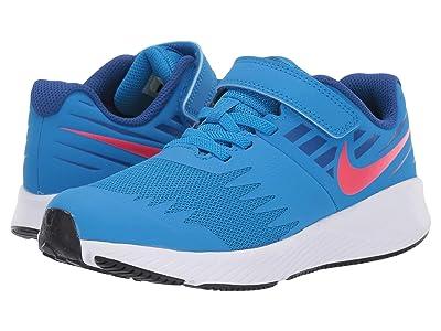 Nike Kids Star Runner (Little Kid) (Photo Blue/Red Orbit/Indigo Force/White) Boys Shoes