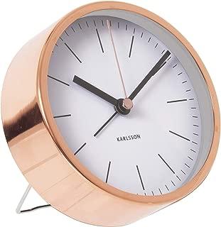 Karlsson Minimal Alarm Clock, White