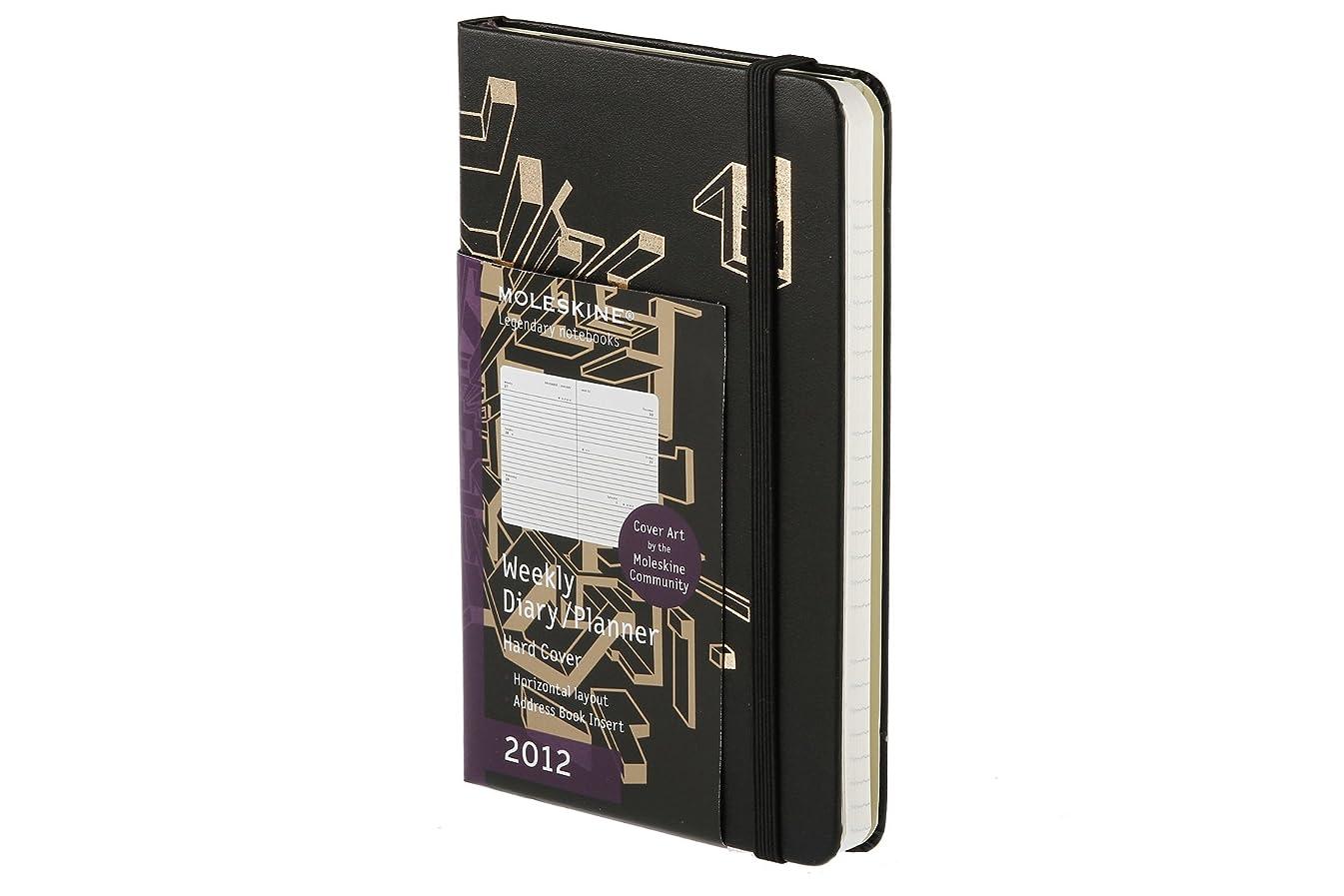 びん通知リスクMoleskine 2012 12 Month Community Weekly Planner Horizontal Sergey Bakin Hard Cover Pocket (Moleskine Legendary Notebooks (Calendars))
