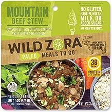 Wild Zora - Mountain Beef Stew - Paleo Meals to Go (single)