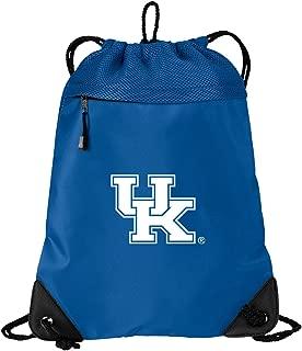 Broad Bay Official University of Kentucky Drawstring Backpack Kentucky Wildcats Cinch Bag - Cool MESH & Microfiber