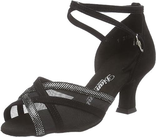 Diahommet femmes Latein Tanzchaussures 035-064-139, Chaussures de Danse de Salon Femme