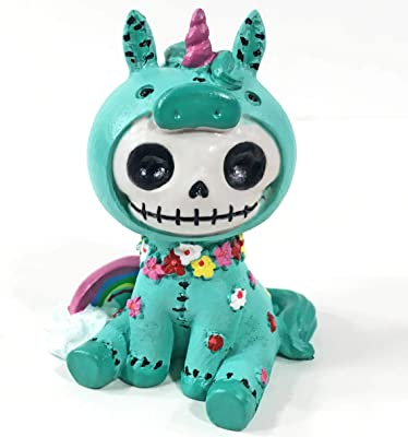 Exclusive Furrybones Unie The Unicorn Skeleton Figurine - Halloween Collectible