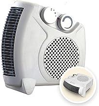 HYISHION Mini Ventilador Calefactor, Ventilador de calefacción de Escritorio Hogar, 600W Tranquila Calentador Portátil, Mini Calentador de Calentamiento rápido de 3 Segundos para Cuarto Baño Oficina