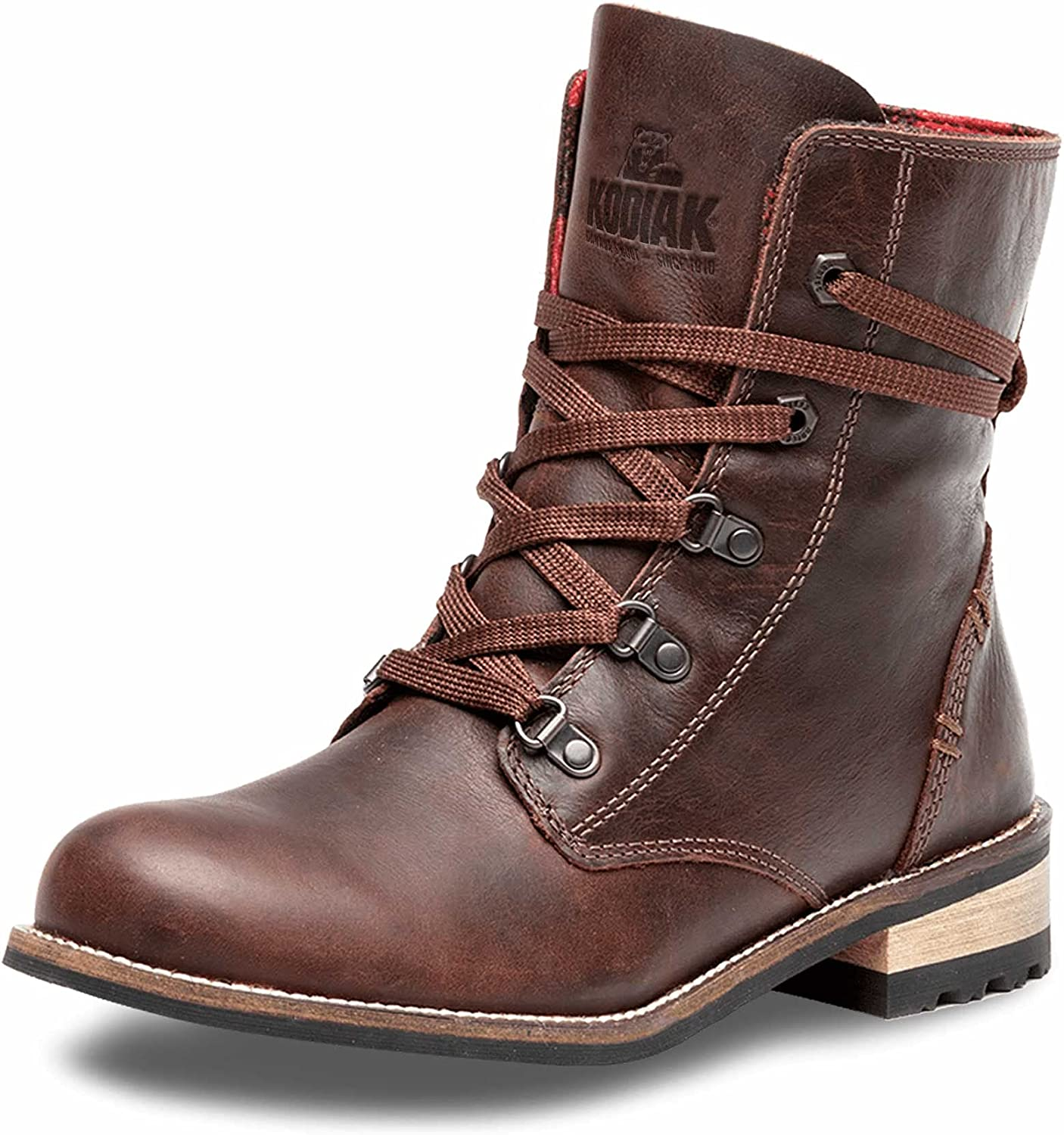 Kodiak Women's OFFicial mail order Canora Boot At the price of surprise Plaid Waterproof