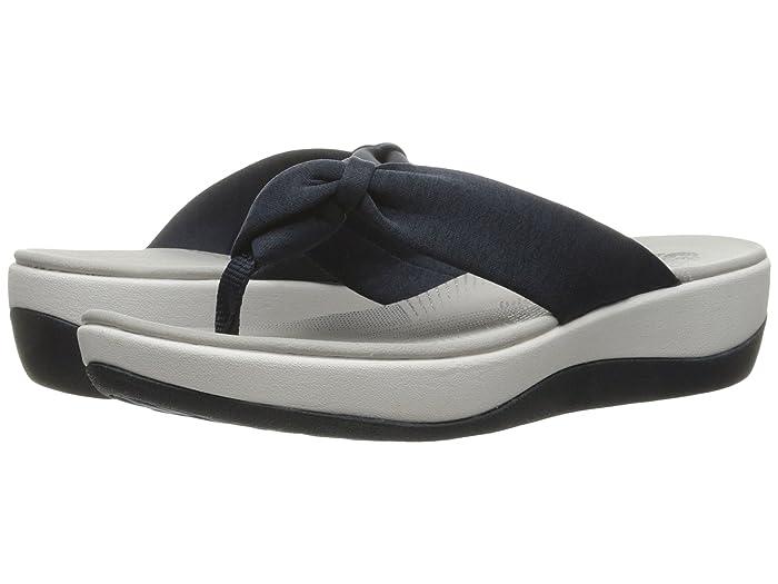 Clarks  Arla Glison (Blue Heather Fabric) Womens Sandals