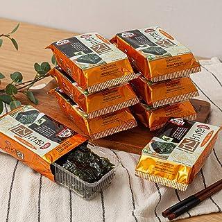 韓国エビ印評判の莞島海苔 韓国海苔 味付けのり BS-03 5g×9袋 お弁当用 おつまみ 焼き海苔