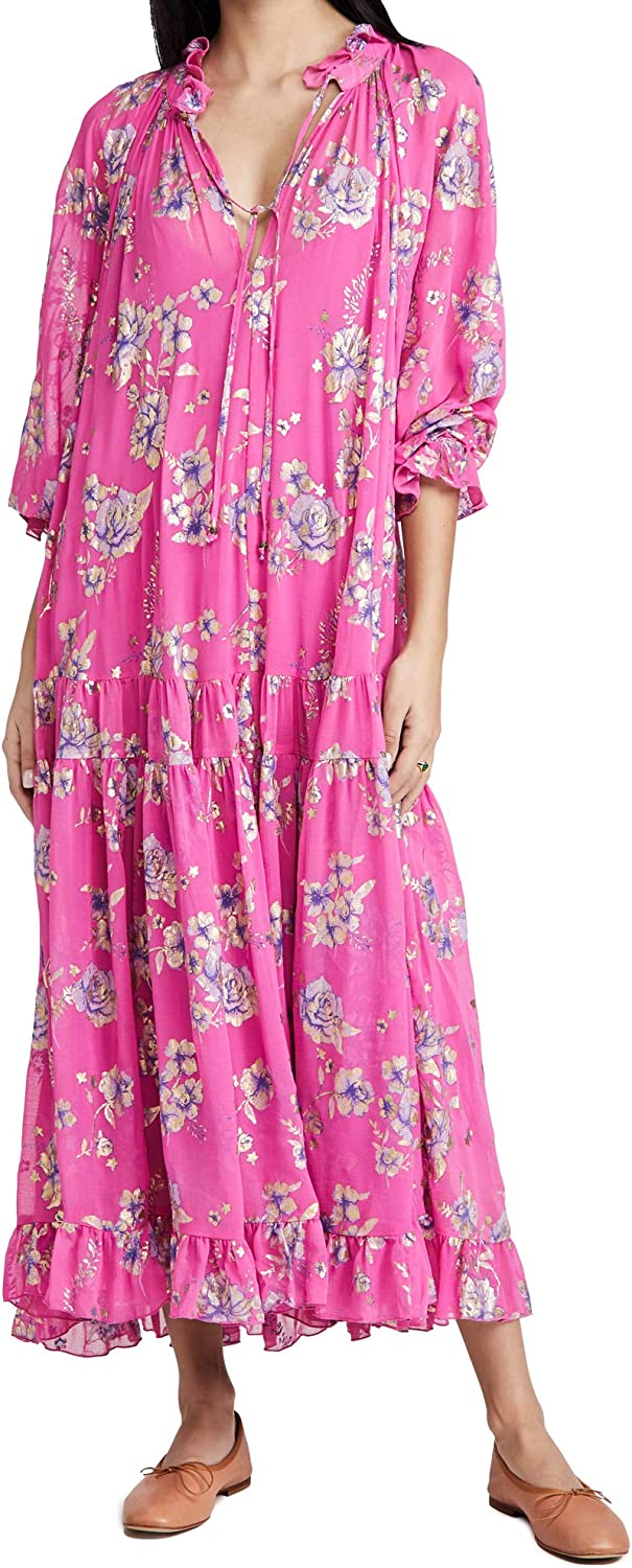 Tampa Mall Free People Women's Feeling Foil Maxi Classic Groovy