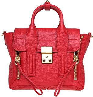 Luxury Fashion | 3.1 Phillip Lim Womens AC000226SKCRE600 Red Handbag | Season Outlet