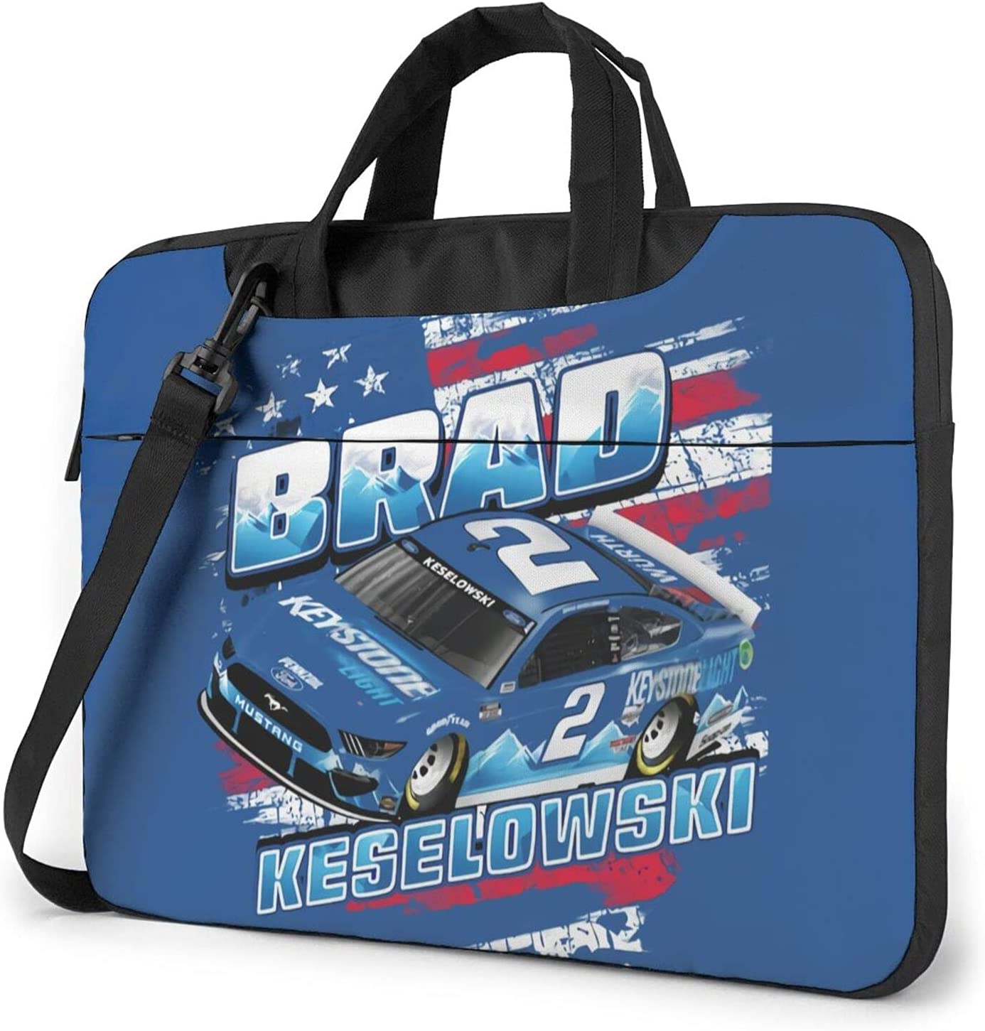 BLESS LINEN Spring new work one after another Brad Keselowski 2 Messenger Laptop Bag SEAL limited product Shoulder Brie