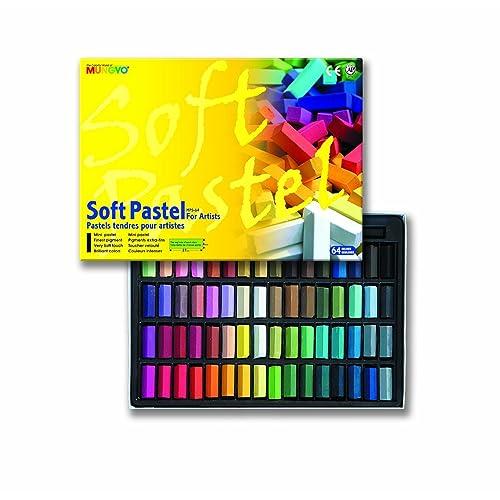 48 Count Sargent Art 22-4148 Colored Square Chalk Pastels