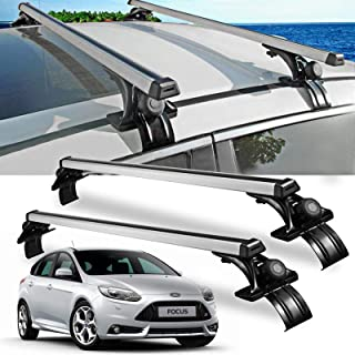 Catinbow 48'' Universal Car Roof Rack Cross Bars Cargo Carrier Roof Rails for Most Nissan Toyota Subaru Volkswagen Suzuki 2 Pack