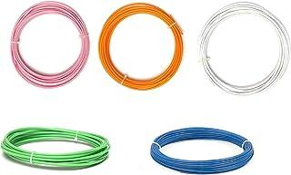Invento 10 meter each 1.75mm 5 Colours Pink Orange White Green Blue PLA Filament 3D Printing Filament For 3D Pen 3D Printer