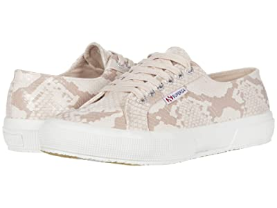 Superga 2750 Synth Snakew (Pink Snake) Women