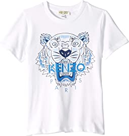 Light Tiger Logo Tee (Toddler/Little Kids)