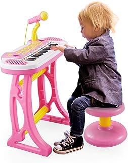 Reditmo Kids Piano Keyboard with Microphone, 31 Keys Educati