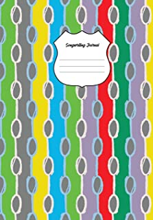Songwriting Journal: Music Manuscript Paper, Staff Paper, Musicians Notebook (Music Composition Books) 6.69 X 9.61 Inches,...