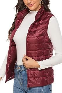 Lightweight Water-Resistant Packable Hooded Puffer Jacket Keep Warm Long Sleeve/Vest Down Jacket